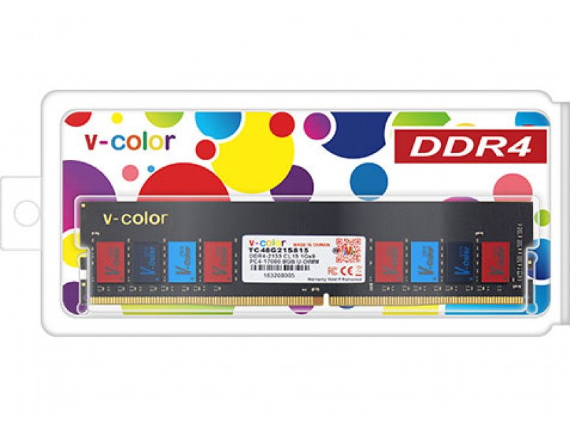 V-color 8G DDR4 2400 iMS彩色IC